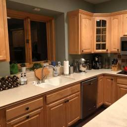 Quartz Countertop Prep and Kitchen Reorganization