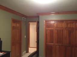 Crown Molding Completed