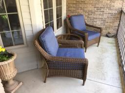 Updated Front Porch