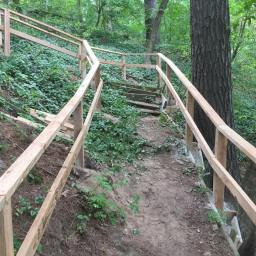 Railing Project Nearing Completion