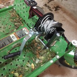Riding Mower Winch