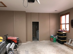 Painting the Guest House Bathroom, Utility Room, and Garage