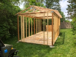 Shed Framing
