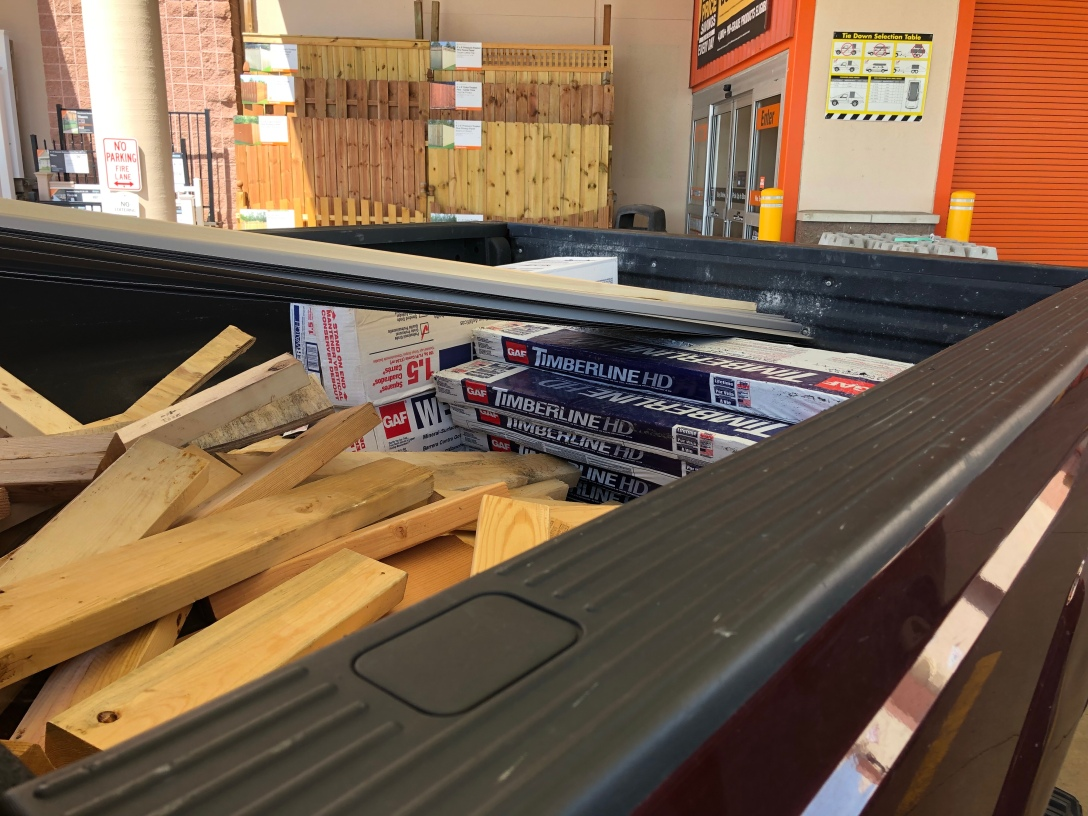 Roofing the Shed – Hardin Home: Home Improvement Projects at