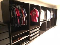 Closet Remodel Progress