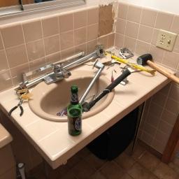Starting Lake House Bathroom Remodel
