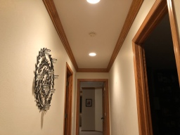 Upstairs Crown Molding
