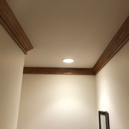 Completed Crown Molding