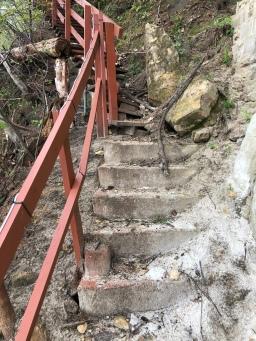 Lake Stair Reconstruction Plan