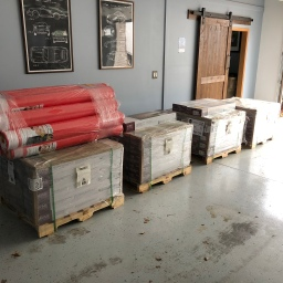 Hardwood Floor Delivery