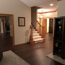 Flooring Complete!