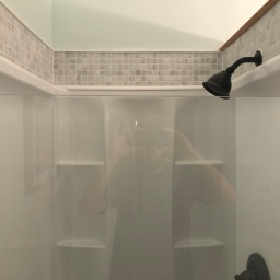 Updated Main Level Shower