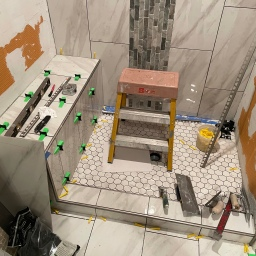 Master Bathroom Tiling