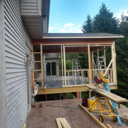 Deck and Three Season Room Update