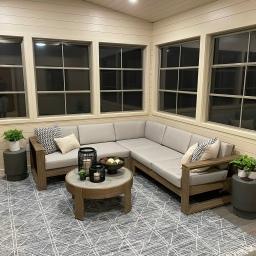 Three Season Room Complete