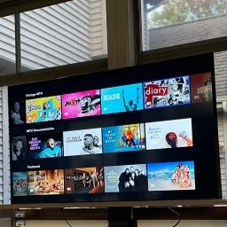 Three Season Room TV Cabinet